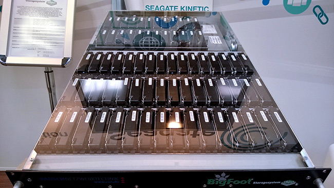 Kinetic Seagate rack